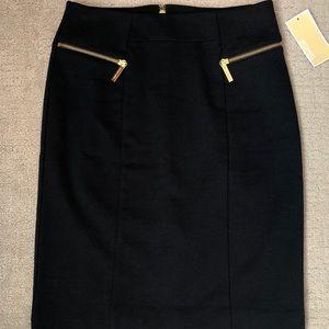 NWT Michael Kors navy blue skirt SIZE 2